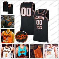 Özel Oklahoma Eyalet OSU Baksetball 2. Cade Cunningham 12 Cameron McGriff'in 13 Isaac Likekele 21 Lindy Waters III Erkekler Gençlik Kid jersery 4XL