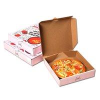 boîte à pizza logo Customsized avec qualité alimentaire prix moins cher de bonne qualité