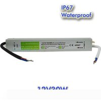 30W AC a DC 12V impermeabile IP67 driver elettronico alimentatore esterno dell'adattatore del trasformatore striscia principale per illuminazione subacquea