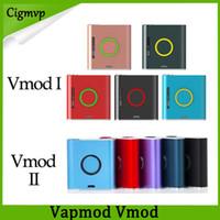 Kit di sigarette Original VAPMOD VMOD e sigarette 1 2 batteria 900mAh con batterie V-MOD 1.2ML Xtank Atomizer Atomizer Bobina ceramica