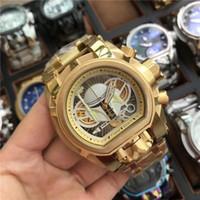 Горячий продавать Повседневный Спортивный календарь Кварцевые часы INVICTA Royal Oak Compass персонализированный набор высокого качества Бесплатная доставка