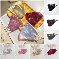 Fashion Bling 3D Washable Reusable Mask PM2. 5 Shield Sequins...