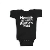 New Mommy Onesie Cotone Manica Corta Body Body Baby Boys Girls Vestiti Funny Auntie Baby Abbigliamento 0-24m
