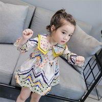 INS Spring Autumn Little Girls Dresses Lovely Fashions Turn ...