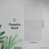 Per One Plus Nord Alcater 1C 2019 Aristo 5 Nokia 8.3 Realme C3 LG Harmony 4 xpression Plus 3 vetro temperato 9h 2.5D con pacchetto