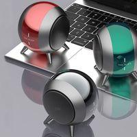 Портативный Bluetooth Акустические системы HIFI стерео звук Super Bass Mini Speaker Cannon системы SoundBar Звук металла Внешний вид TWS Interconnect