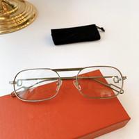 2020 تصميم الأزياء الجديدة الرجال CT0112 والإطار المعدني الكامل صغيرة المرأة النظارات الشمسية إطار ريفو عدسة مرآة علبة كاملة UV400 وصفة طبية