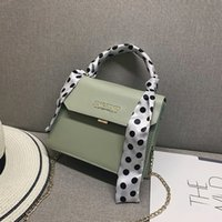 2020 Women Scarf Wild Vintage Messenger Bag Fashion One Shoulder Small Square Ladies Crossbody Messenger Female Bag