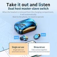2020 الجديدة M7s TWS بلوتوث اللاسلكية سماعة LED قوة العرض بلوتوث 5.0 HIFI الضوضاء Cancell الرياضة سماعة الأذن لXIAOMI