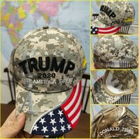 Make America Great Again Cap Camouflage Usa Flag Baseball Ca...