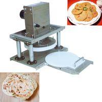 Restaurant Electric 22cm Pizza Dough Noodle Press Pizza Dough Flattener Dough Roll Sheet Press Pastry Pizza Noodle Press 220V