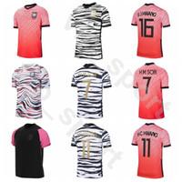 2020 2021 Sul SON Soccer Jersey Coreia 6 HWANG 18 LEE 22 KWON YHGO YLEE HMSON HUN KIM HO HYUNG Futebol shirt Kits