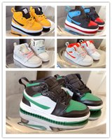 1 1s niños zapatos de baloncesto preescolar firmado alto juventud chicago recién nacido bebé infantil niños niños pequeños niños zapatillas de deporte