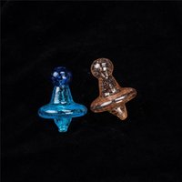 In stock New Glass Witch Hat Carb Caps For Quartz Thermal Ba...