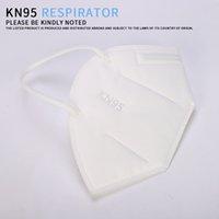 США STOCK Быстрый корабль Супер высокое качество Одноразовая маска для лица 4-слоя Non-Woven противотуманно пыленепроницаемом Открытый маски