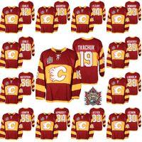 Matthew Tkachuk Al MacInnis Calgary Flames Lanny McDonald Hokeyi Jersey Johnny Gaudreau Sean Monahan Joe Nieuwendyk David Rittich