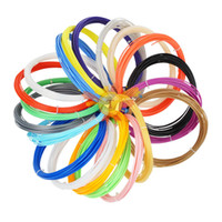 Verwendung für 3D-Druckstift 100 Meter 20 Farben 1,75mm PLA-Filament-Threads-Kunststoff 3 D-Drucker-Materialien Kinder-Zeichnung Spielzeug Giftig und Odorle