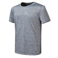 324-Erkekler Wonen Çocuklar Tenis Gömlek Spor Eğitim Polyester Koşu Beyaz Siyah Blu Gri Jersesy S-XXL Açık Giyim