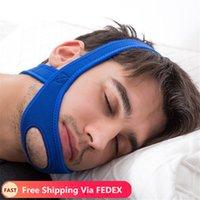 Neue Neopren Anti Snore Stop Schnarchen Kinnriemen Gürtel Anti Apnea Jaw Lösung Schlaf Unterstützung Apnea Gürtel Schlafen Pflege Werkzeuge