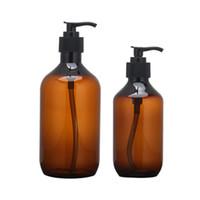 Бутылки для хранения JARS 2PCS 300 мл 500 мл Жидкое мыло для мыла Dispenser Шампунь для душа для душа Лосьон для тела Организатор Cleanser