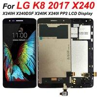 Mobiele telefoon Touch Panels 100% Getest voor LG K8 X240 X240H X240DSF X240K X240I PP2 LCD-scherm Digitizer Assembly