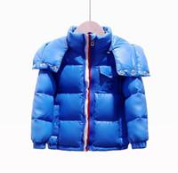 Yeni Sıcak Satış Çocuk Aşağı Ceket Parkas Ceketler Kış Ceket Erkek Moda Çocuk Kalın Mont Erkek Çocuklar için Rüzgarlık Kızlar Ceketler