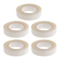 5 rollos de cinta de doble cara pelucas de Extensión Skinweft pelo postizo Toupees