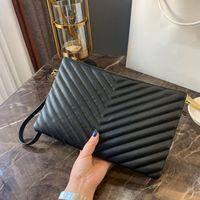 Büyük marka çanta bayanlar manşonlar pratik deri bayan Retro zarf çanta akşam çanta bayanlar hakiki deri moda personali fermuar