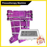 Салон Использование давления воздуха Жилет Костюм для Прессотерапии тело для похудения Лимфодренажных машин В стоимости не входят машина