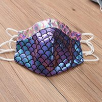 Designer Face Mask Dustproof Fashion Reusable Face Masks Breathable Fish Scale Printing Adult Protective Masks YYA335 100pcs