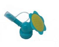 2в1 Пластиковые ороситель Насадка для цветов поилки бутылки лейки ороситель Душ Глава Садовый инструмент