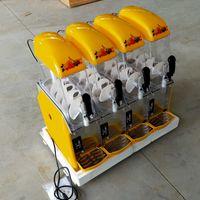 Commercial quatre cylindres neige fondoir 110V / 220V électrique Slush Machines froides boissons smoothies Maker Faire machine à glace