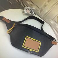 M45220 DISCOVERY Bumbag Gaston Etiquetas de los bolsos de hombro Eclipse lona de la manera de los hombres de la correa de la cintura bolsa Fannypack Mujeres en el pecho del cuerpo cruzado bolso de la cintura