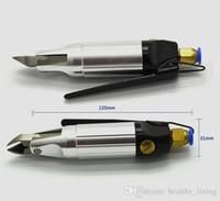 Micro pneumatique Ciseaux Cutter Air Shear Wind Pins outil de coupe pour tronçonner composants électroniques Pin et Petit métal mou fil 013
