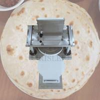 2020 ticari paslanmaz çelik elektrikli tortilla basın makinesi tortilla yapma makinesi ticari pizza hamur presleme makinesi