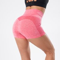 NORMOV Seamless Shorts Women High Waist Fitness Biker Shorts...