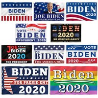 Joe Biden Bandiera 90 * 150cm 70 * 100cm 20 stili americani presidente Election 2020 Indoor bandiera esterna Bandiere OOA8220