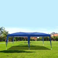 3 × 6 متر المنزل حديقة شاطئ الظل حزب خيمة العريشة التخييم في الهواء الطلق للماء الخيام القابلة للطي مع حقيبة حمل الأزرق أنيق المحمولة المظلة