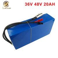 Батареи Электрический велосипед батареи 48V 36V 20AH Скутер Велосипед Упаковать водонепроницаемый ПВХ с 2.5A зарядное устройство для Mountion Motor