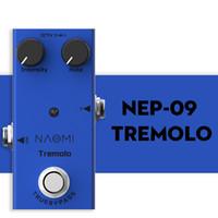Педаль NAOMI НЭП-09 тремоло эффект гитары педаль Правда Обходной электрический эффект гитары