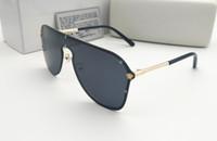 senhoras marca de verão UV400 Moda Men Ciclismo óculos esporte ao ar livre clássico Sunglasses Eyewear MENINA Beach Sun vidro 6 cores frete grátis