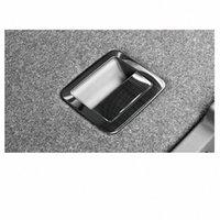 Lsrtw2017 für VW T Roc Auto-Kofferraum Schalter Griffrahmen Bordüren Interieur Zubehör Chrome 2018 2019 2020 LSSL #