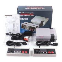 620 500 Oyun Konsolu SICAK Satış Mini TV Video Eğlence Sistemi 620 500 Oyun Konsolu için NES Oyunları Wth Kontrolörler Nostaljik oyun konsolu