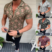 free shipping summer Hot Men Shirt Sale Fashion Shirts Casua...