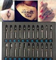 Профессиональные Pro татуировки питания из нержавеющей стали Tip Kit Machine Gun ручка Set Форсунка Имя Татуировки Магазин татуировки от Bawanbian, $ 17,93 | DH cGqb #