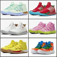 2020 Pineapple House 5 Zapatos Kyrie TV PE Basketball-Schuhe für 20 Jahre Irving 5s Graffiti x Multi-Color-Schwamm-Sport-Turnschuhe tay