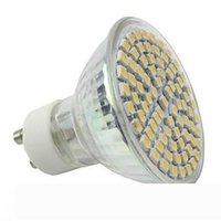 LED Spot Işık GU10 E27 E14 Sıcak Beyaz 3528 60 SMDS 4.5W Ampul Lamba 110V-130V 220-240V Ofisi Yaşam Roma LED Ampüller