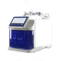 2021 Microdermoabrasão portátil Máquina antiategica facial 5in1 Oxygen Jet Peeling Microcurrent Face Lift Skin Cleaner Salon Sistema de beleza
