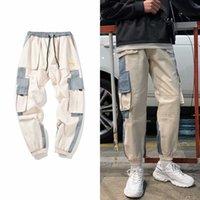 Multi Nuovo Hip Hop Streetwear uomo tasche cargo Harem pantaloni casuali Maschio pista jogging Pantaloni Moda Uomo Harajuku