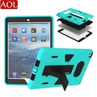 Armor Shockproof Case For iPad 2017 2018 air2 pro 9. 7 10. 5 a...
